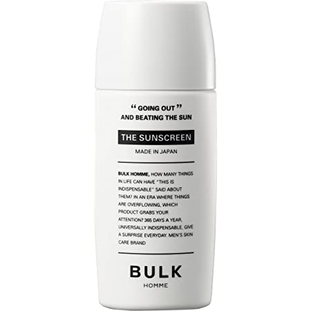 BULK HOMME THE SUNSCREEN 日焼け止め SPF40 PA+++ 40g
