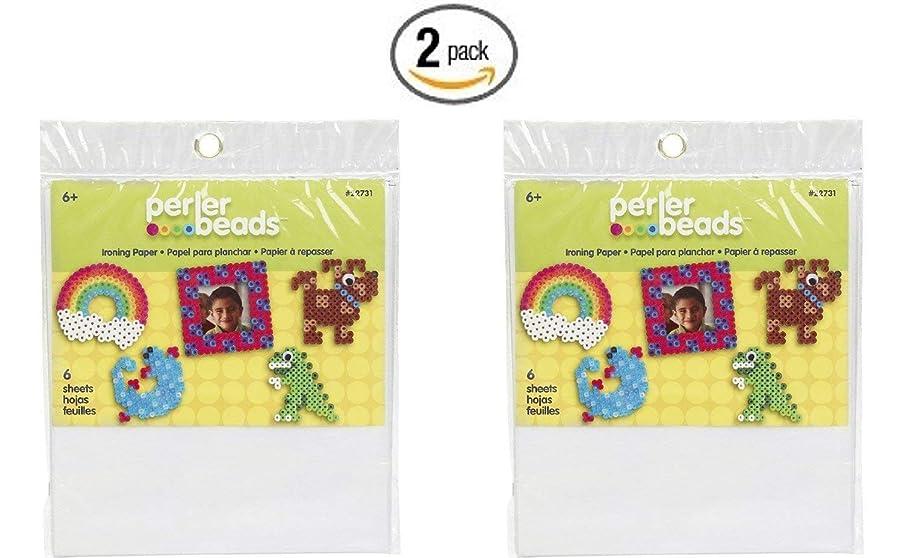 Perler Fun Fusion Ironing Paper 6/Pkg- (2 pack)