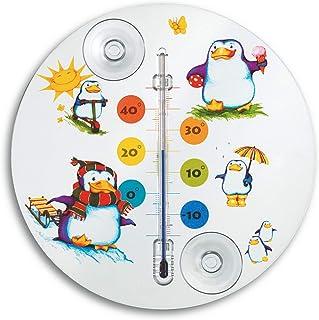 TFA Dostmann 14.6016.02 Pinguin - Termómetro para ventana