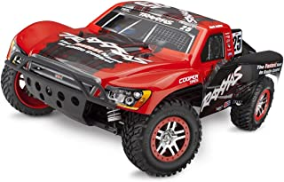 Traxxas 68086-4 Slash 4X4 1/10 Scale 4WD Short Course Truck with TQi 2.4GHz Radio and TSM Mark Jenkins