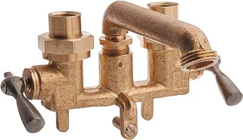 wholesale Gerber Plumbing online sale G0049530 Classics outlet online sale Two Handle Clamp-on Combination Laundry faucet outlet online sale