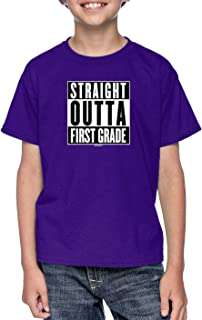 Haase Unlimited Straight Outta First Grade - Elementary Youth T-Shirt