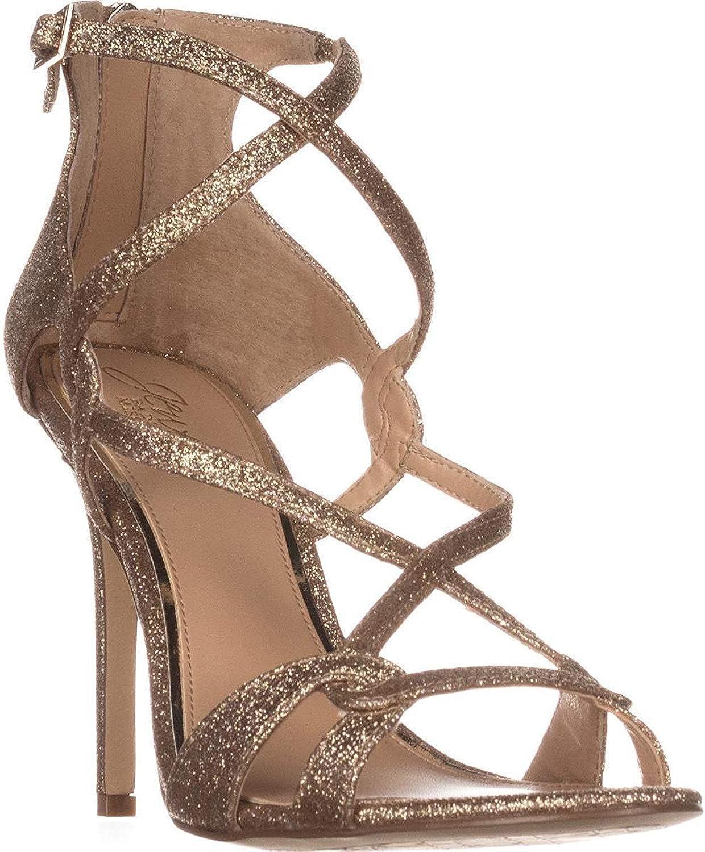 Badgley Mischka Jewel Womens Aliza gold Size 6.0
