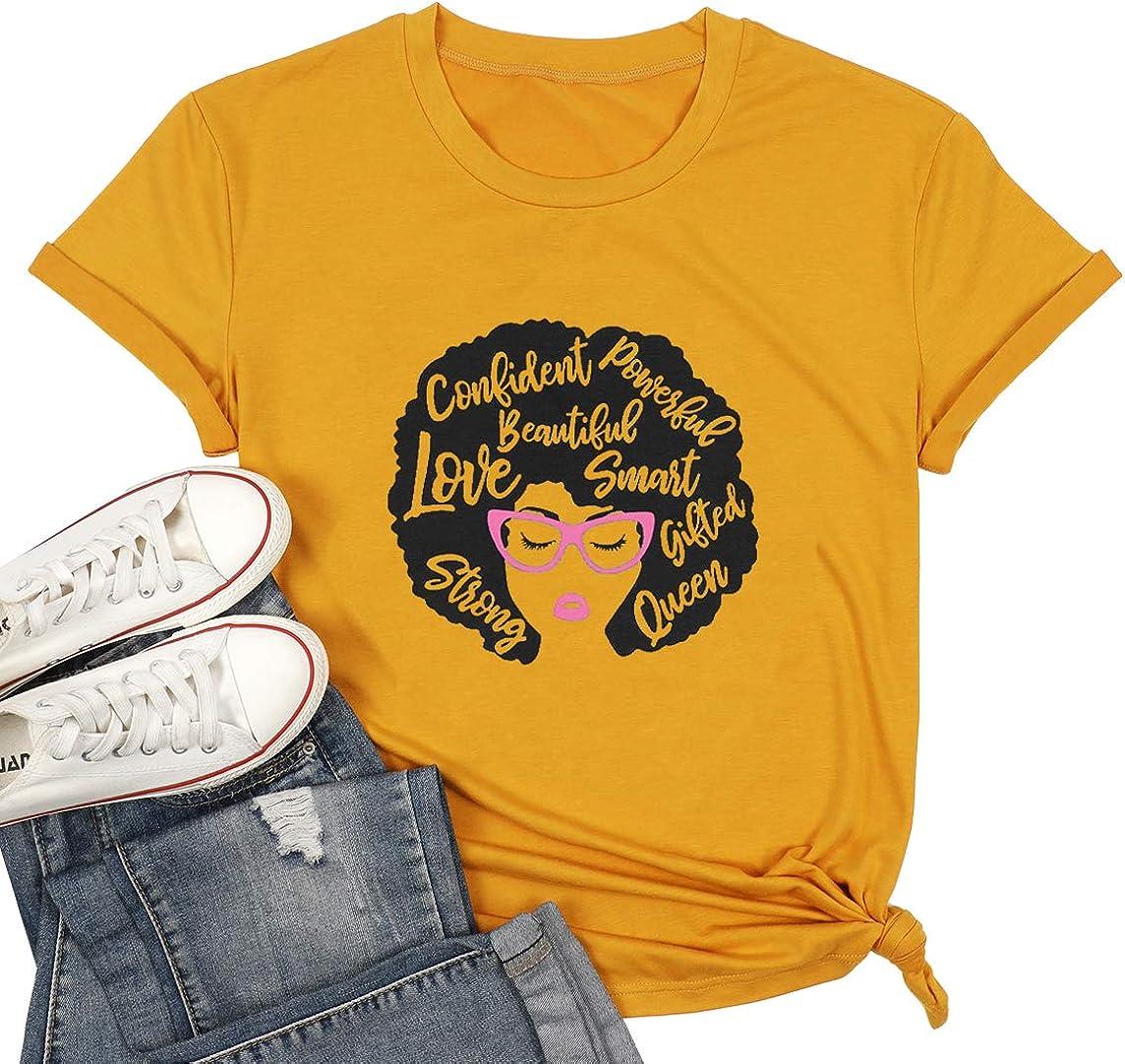 Black Girl Magic Direct stock discount 5 popular Shirts for Amercian Afro Women Melanin Natural