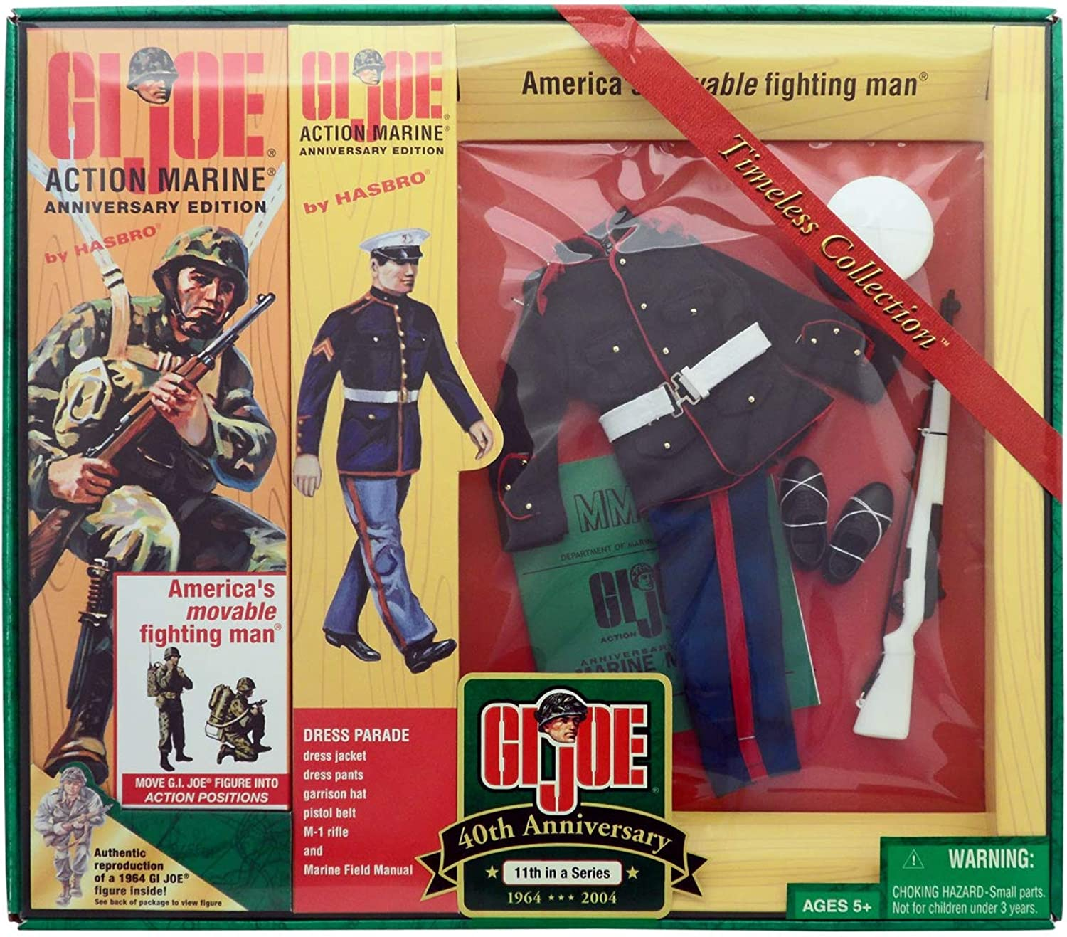 Gi Joe 12  40th anniversary timeless collection Action Marine 11th in a series by Hasbro