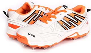 KD MG Cricket Shoes Metal Spike Cricket, Hockey Sports Studs Indoor Out Door Trek Shoes
