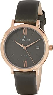 FJORD Women's FJ-6048-03 Analog Quartz Grey Watch