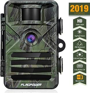 FLAGPOWER Trail Game Camera 16MP 1080P Hunting Camera...