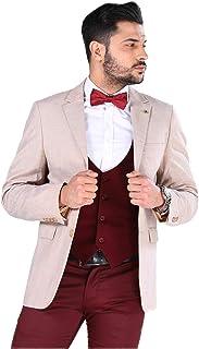 Men's Cream Blazer