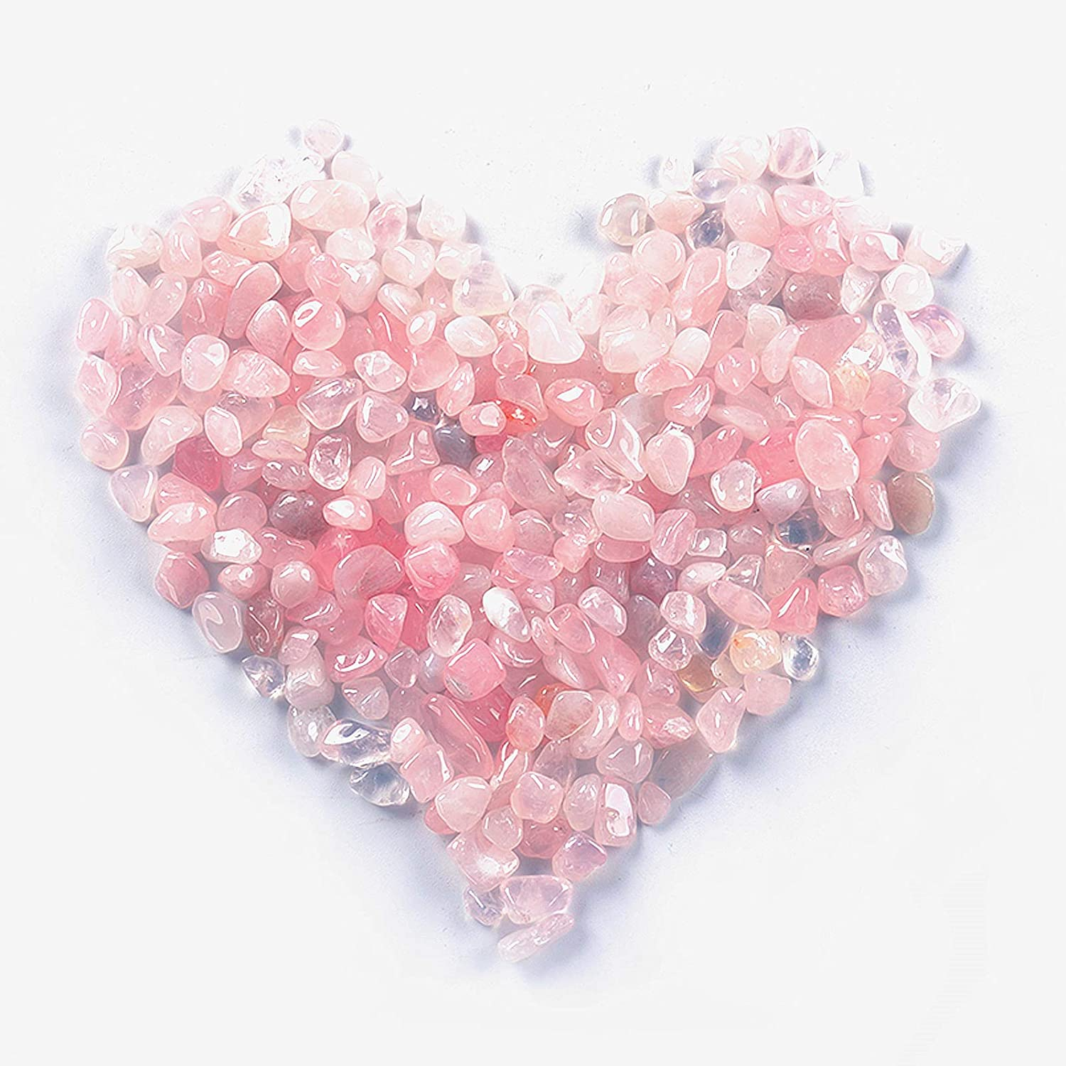 HOSKO Quartz Tumbled Chips Stone Finally popular All items in the store brand Natural Crushed Crystal Rocks