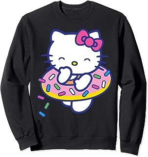 Donut Sprinkles Floaty Summer Swimming Sweatshirt