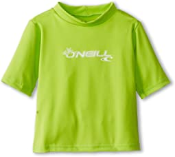 O'Neill Kids Skins S/S Rash Tee (Infant/Toddler)