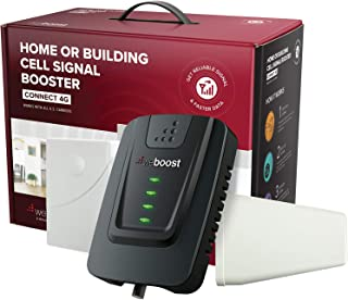 weBoost Connect 4G (470103) Indoor Cell Phone Signal Booster for Home and Office - Verizon, AT&T, T-Mobile, Sprint - Supports 5,000 Square Foot Area