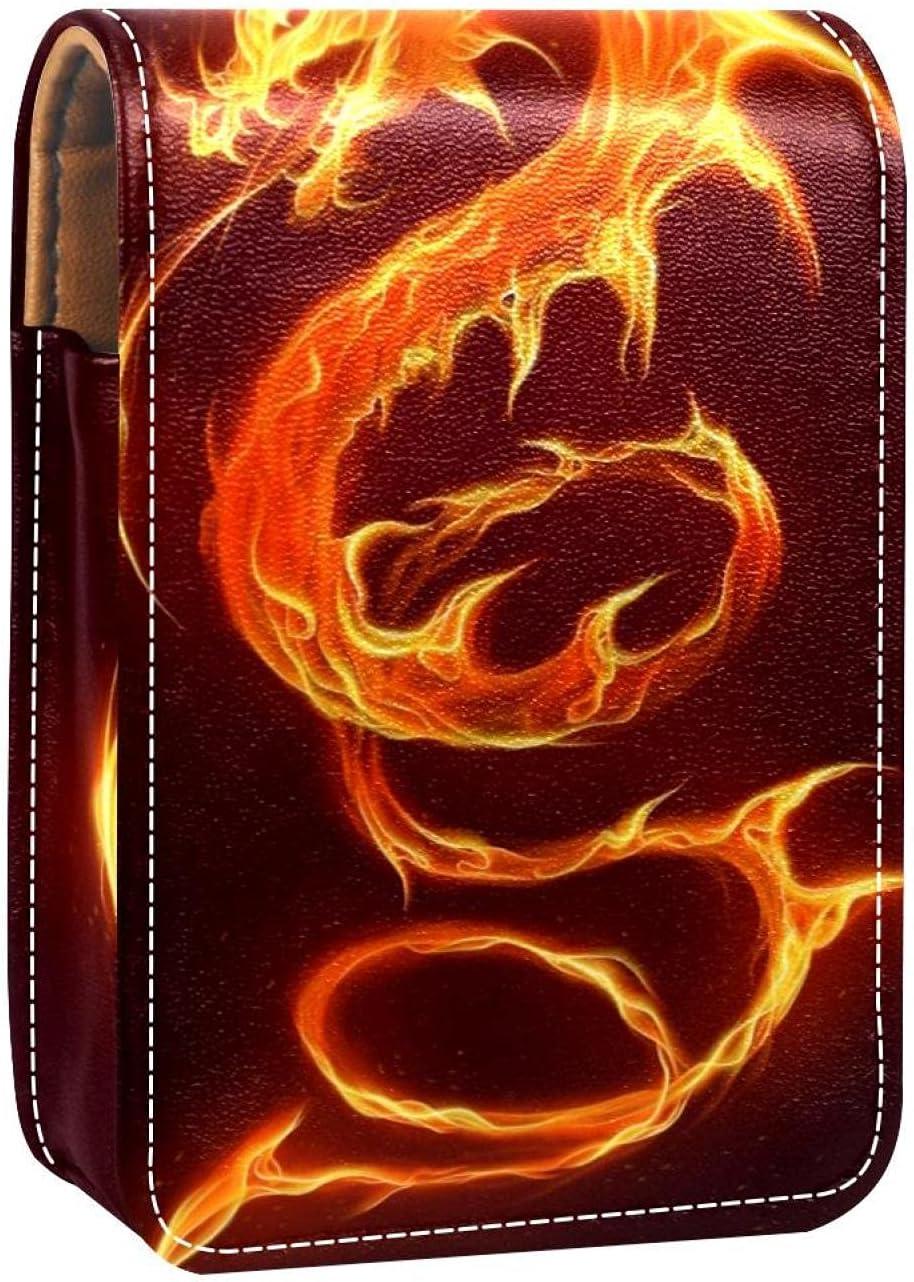 Fire Dragon Prints Lipstick Case Holder mart Organizer Atlanta Mall Mini