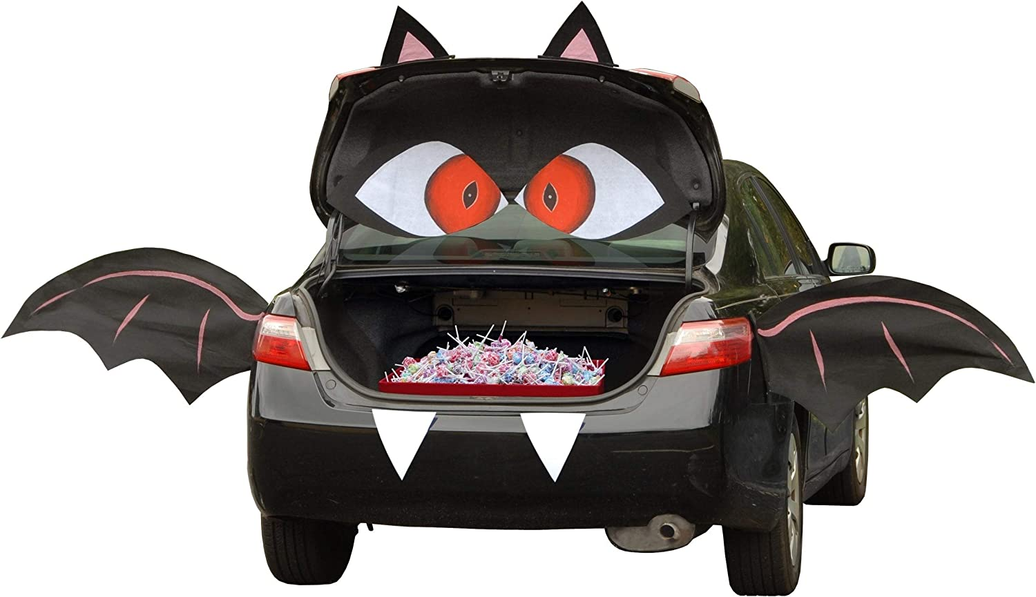 Our shop OFFers the best service Challenge the lowest price of Japan Tricky Trunks Halloween Car Polyester Black Kit