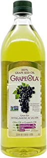 Kusha Grapeola Seed Oil, Grape, 33.8 Fl Oz (Pack of 1)