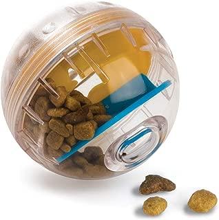 Pet Zone IQ Treat Ball – Adjustable Dog Treat Ball (Slow Feeder, Dog Puzzle Toy, Treat..