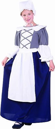 respuestas rápidas Disfraces RG 91230 91230 91230 - L Large Ni-o Colonial Peasant Girl Costume  comprar nuevo barato