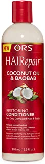 ORS HAIRepair Coconut Oil and Baobab Restoring Conditioner, 12.5 oz.(Pack of 1)