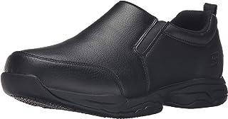 حذاء رياضي رجالي Skechers مقاس مريح من Felton Camak SR مقاوم للانزلاق أسود 9