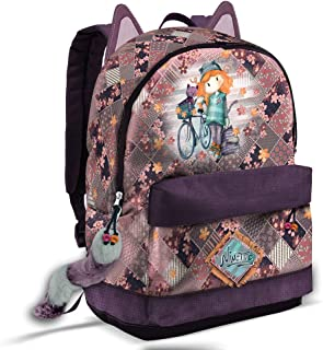 Forever Ninette Bicycle-Sac à Dos HS FN Mochila Tipo Casual 44 Centimeters 23 Multicolor (Multicolour)