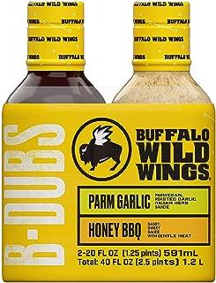 A Product of Buffalo Wild Wings Sauce (20 oz., 2 pk.)