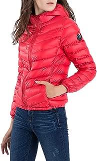 Mden Women's Hooded Packable Down Jacket Ultra Lightweight Waterproof Duck Winter Puffer Coat