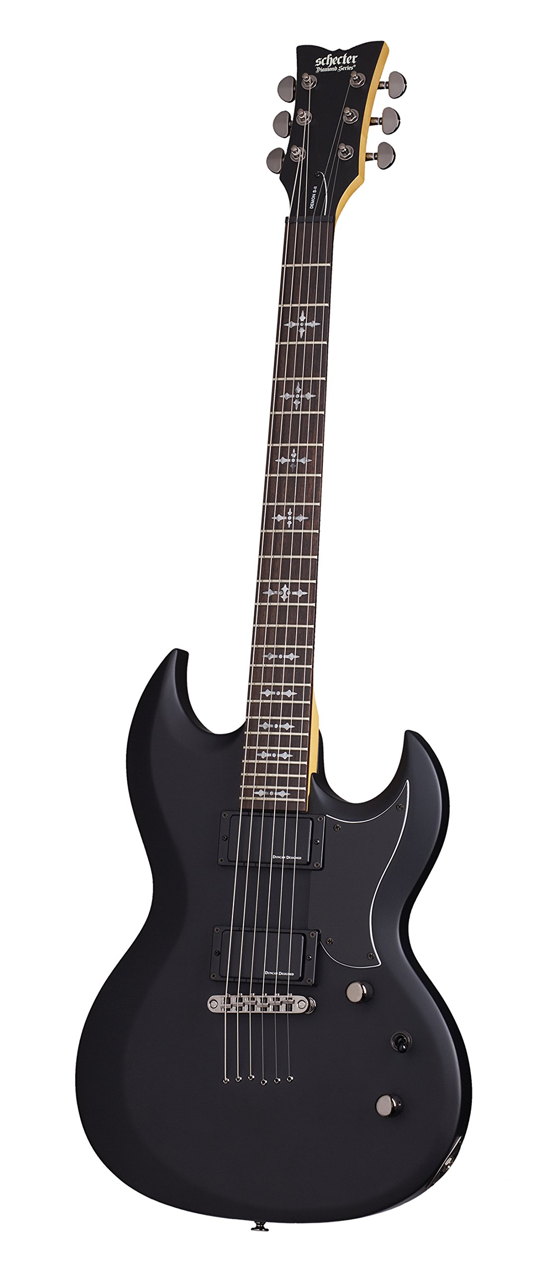 Cheap Schecter Demon S-II Solid-Body Electric Guitar SBK Black Friday & Cyber Monday 2019
