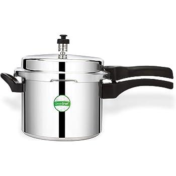 Greenchef Coral 5 Litre Pressure Cooker (Aluminium)