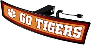 SLS Clemson Tigers Go Tigers Light Up Hitch Cover