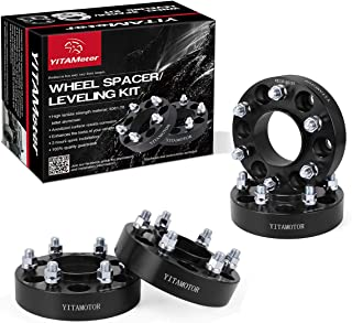 YITAMOTOR Wheel Spacers 6x135 for F150, 1.5 inches Forged Hubcentric Wheel Adapters, 14x1.5 Studs& 87 mm Bore, Compatible for 2015-2018 Ford F-150, Lobo, Expedition