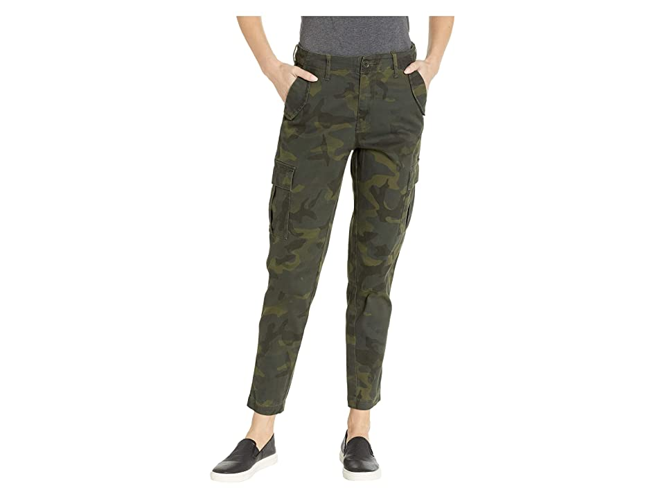 UNIONBAY Garner Camo Skinny Stretch Cargo (Olive Branch) Women