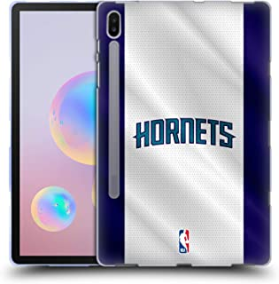 Official NBA Jersey Charlotte Hornets Soft Gel Case Compatible for Samsung Galaxy Tab S6 (2019)