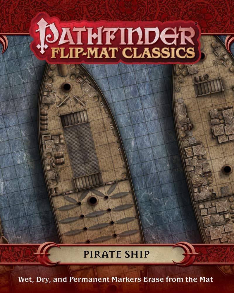 Pathfinder Flip-Mat Classics: Pirate Ship: Amazon.es: Juguetes y juegos