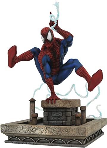 DIAMOND SELECT TOYS Marvel Gallery: Spider-Man ('90S Version) PVC Figure, Multicolor, 8 inches