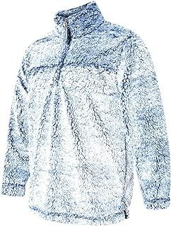 Unisex Sherpa Quarter-Zip Pullover - Q10