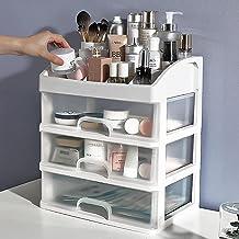 Make-Uporganizer Met 3 Laden, Ijdelheid Aanrechtblad Voor Cosmetica. Huidverzorgingsorganizer Voor Penselen, Lotion, Nagel...