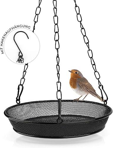 WILDLIFE FRIEND Mangeoire pour vers de farine à suspendre - Mangeoire pour oiseaux sauvages toute l'année - Gamelle e...
