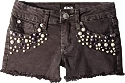 Dazzel Shorts in Smoke (Big Kids)
