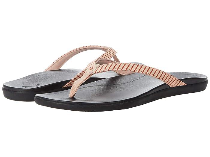 Ho'opio  Shoes (Pink Sea Salt/Stripe) Women's Sandals