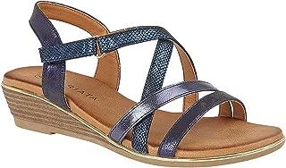 Cipriata Womens/Ladies Alessia Crossover Strap Sandals