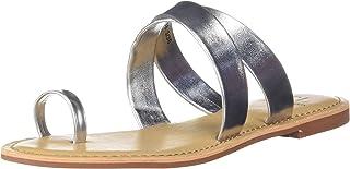 Carlton London Women's Brown Flat Sandal