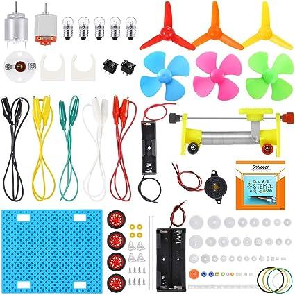 DIY Motor Fan Model Toy Physics Electromagnetism Experiment Educational Toys