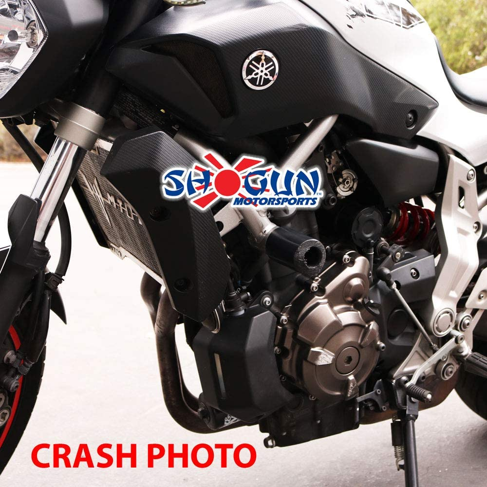 702-6419 Shogun 2015 2016 2017 Yamaha FZ-07 FZ 07 2018 2019 2020 MT-07 MT 07 SXR700 2018 2019 2020 Front Axle Sliders MADE IN THE USA