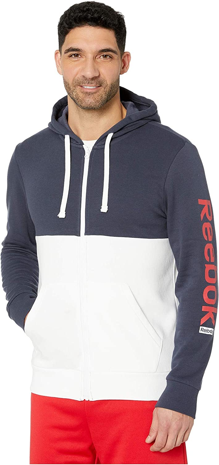 Reebok Training Essentials Daily bargain sale Full Don't miss the campaign Zip Hoodie