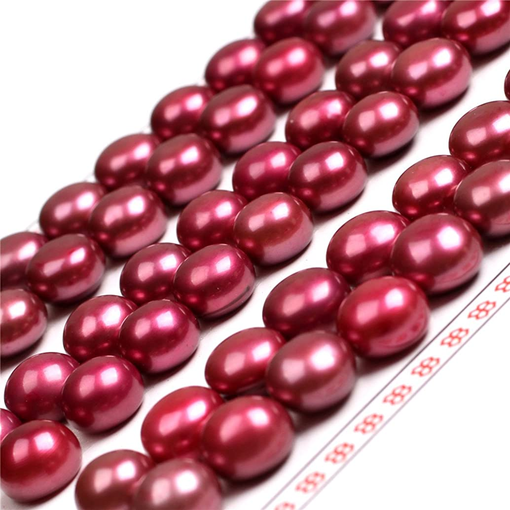 8mm - 1/2 8mm 30 Pairs AAA Grade Light Pink Half Drilled Freshwater Cultured Pearls Beads for Earrings Stud Jewelry Making (red Wine) kfxblbjr16468