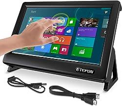 Monitor Táctil 7 pulgadas para Raspberry Pi 4B, Pantalla Tátcil HDMI HD LCD 1024X600 para pantalla Raspberry Pi 4 Modelo B 3 2B ETEPON (Versión Actualizada)