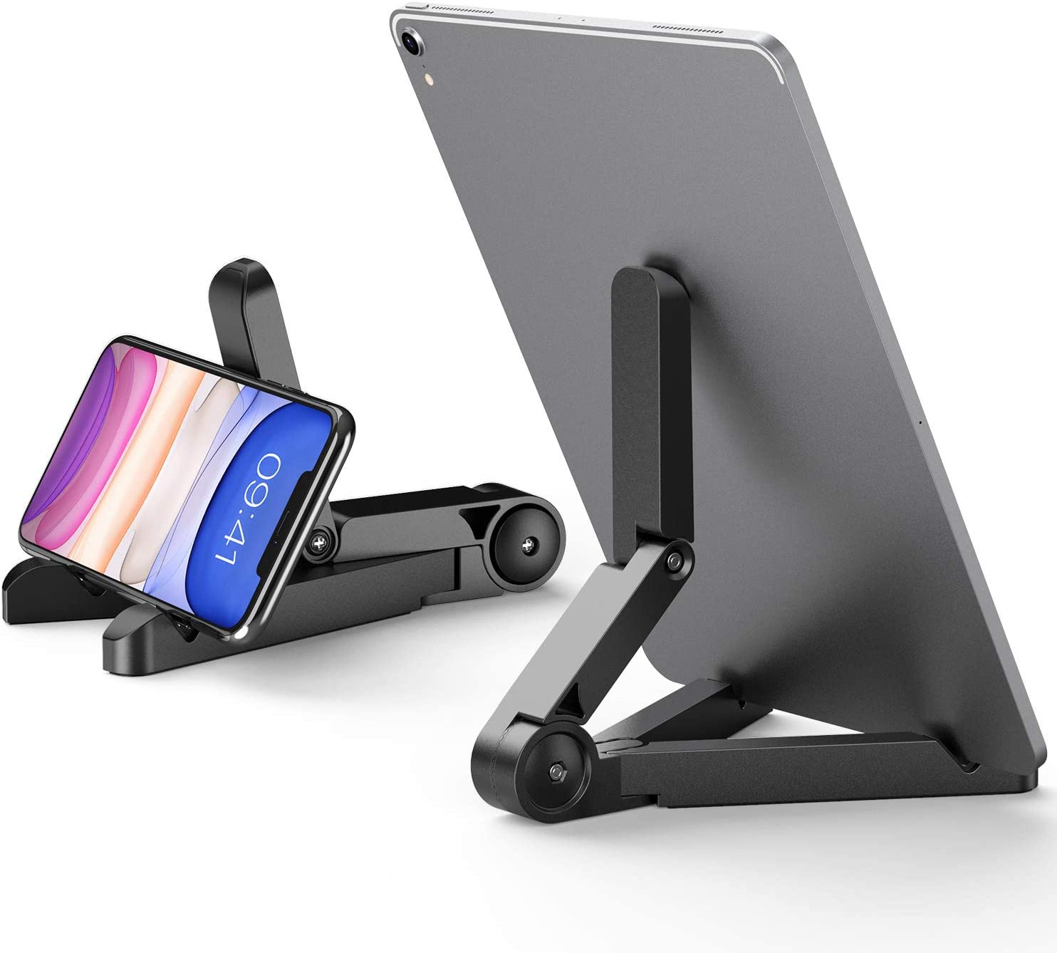 ORIbox Adjustable Stand for iPhone, iPad,Cell Phone Stand,Desktop Solid Universal Desk Stand,Compatible with All iPhone 12/11 Pro Max XS Max XR X 8 7 6S Plus SE 2020 12 mini,Samsung Galaxy,Smart Phone