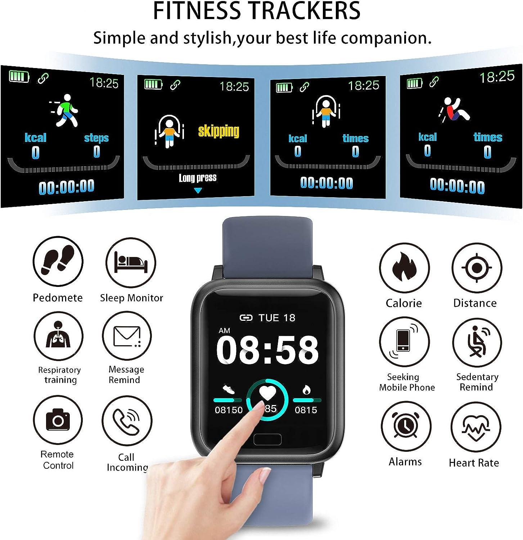 miniature 19 - Smart Watch Fitness Tracker BP fréquence cardiaque étape Calorie Sommeil Moniteur Étanche