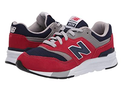 New Balance Kids 997H Essentials (Little Kid) (Team Red/Pigment) Boys Shoes